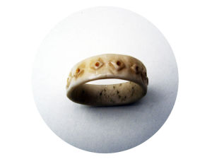 Knochen Ring